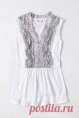 Гибрид футболки и блузки / Блузки / Модный сайт о стильной переделке одежды и интерьера