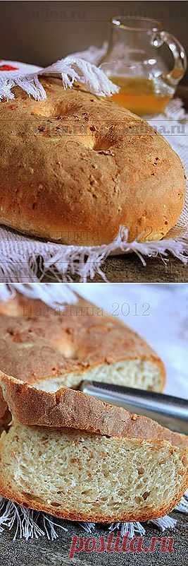 Хлеб из смешанной муки с пророщенной пшеницей