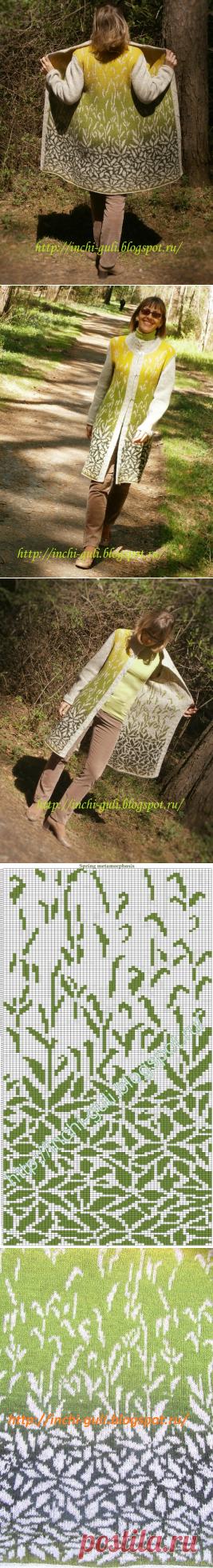 Color knitting Inchi: Весенние метаморфозы
