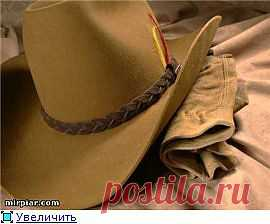 Выкройка ковбойской шляпы