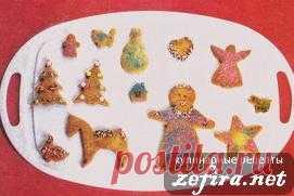 Фигурное сахарное печенье