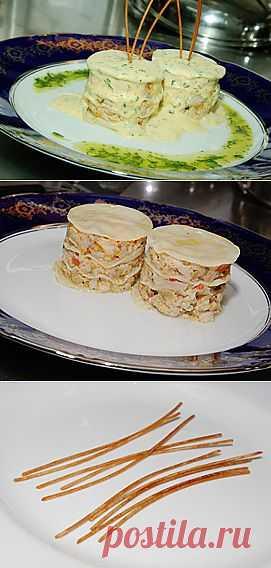 Лазанья с морепродуктами от ресторана «Пулман» / Мастер-класс от шефа / Статьи / Киев / Ресторан.UA