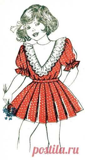Как сшить платья для девочек. Выкройки детских платьев. По этим выкройкам вы сошьете прекрасные платья для своих  дочек. Выкройки очень удачные и платья получаются хорошими и красивыми.  Ведь платья для девочек – ключевые элементы гардероба современных юны…