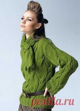 Вяжем пуловер / Вязание для женщин спицами. Схемы / PassionForum - мастер-классы по рукоделию