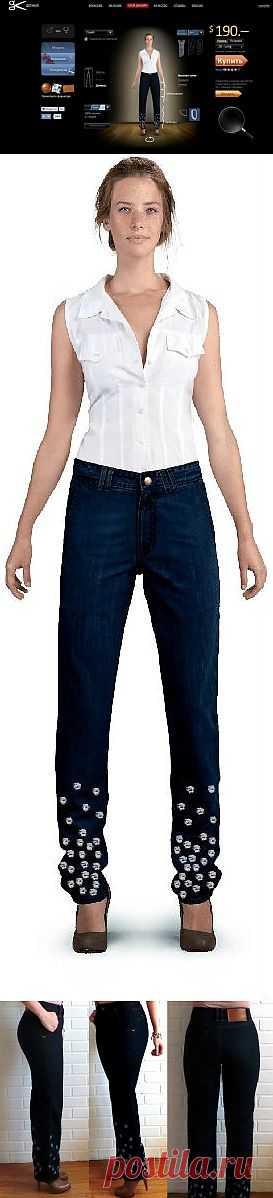 Getwear - идеальные джинсы своего дизайна (личный опыт) / Пароли и явки / Модный сайт о стильной переделке одежды и интерьера