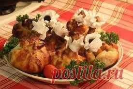 Побалуйте своих гостей таким изысканным и вкусным блюдом! Это блюдо приготовить под силу даже молодой хозяйке.