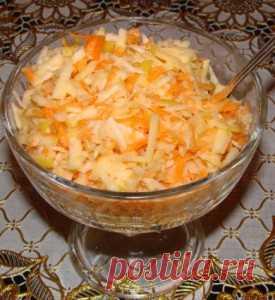 Салат из корня сельдерея | Рецепты Натали