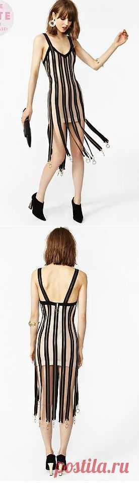 Платье с молниями / Платья Diy / Модный сайт о стильной переделке одежды и интерьера