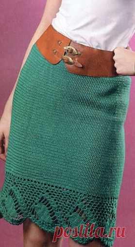 Юбка крючком / Женская одежда крючком. Схемы. / PassionForum - мастер-классы по рукоделию