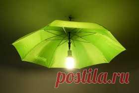 использование старого зонта