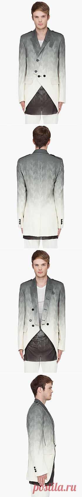 Мужской пиджак Ann Demeulemeester +6 / Пачкаем / Модный сайт о стильной переделке одежды и интерьера