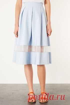 Способ удлинить юбку от Top Shop / Юбки и их переделки / Модный сайт о стильной переделке одежды и интерьера
