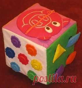 Кубче Идеята с копчетата Blocks buttons