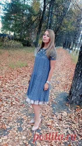 """Вязаное платье в бохо-стиле """"Анна"""""""