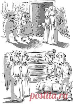 "Притча ""Два ангела"""