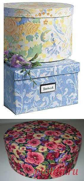 коробки и шкатулки из картона | Записи в рубрике коробки и шкатулки из картона | Дневник ирен777