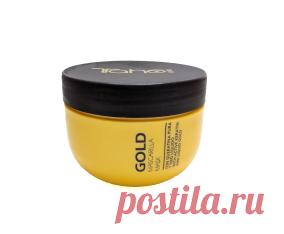 Маска с натуральными кератинами Tahe Gold  делает волосы более плотными, убирает пушение, придает красивый блеск волосам.