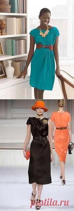 Платье от Oscar de la Renta за 1 час. / Простые выкройки / Модный сайт о стильной переделке одежды и интерьера