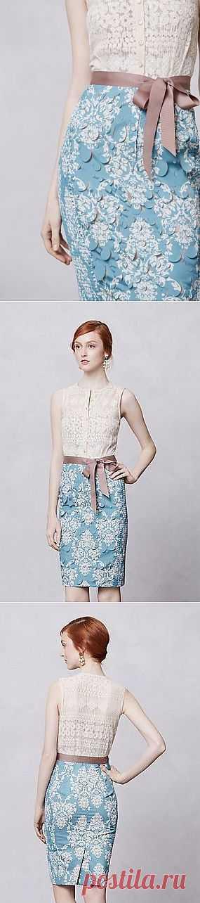 Фактурное платье / Фактуры / Модный сайт о стильной переделке одежды и интерьера