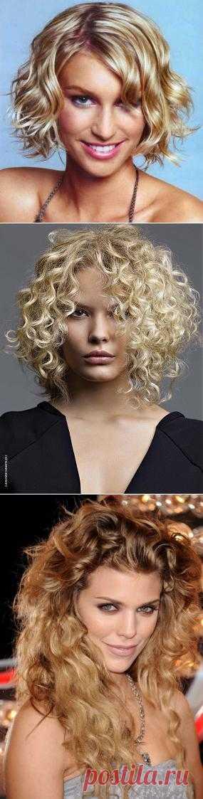Самые красивые стрижки для вьющихся волос