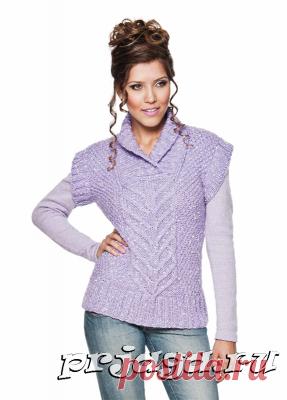 Женское вязание спицами
