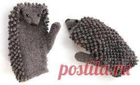 А знаете ли вы, что такое «ежовые рукавицы»? А кого ими надо держать? И не из ёжиков ли их делают?