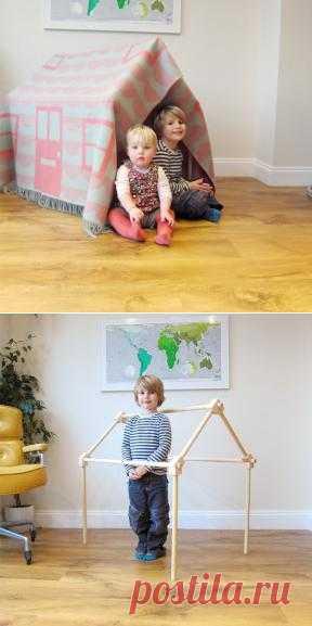 Экологичный домик в детской