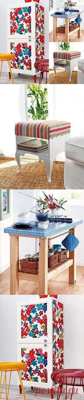 3 мастер - класса для мебели ИКЕА / Мебель / Модный сайт о стильной переделке одежды и интерьера