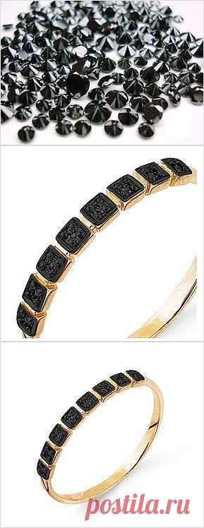 Черные бриллианты вечны. Меняется мода, меняются ценности, но бриллианты всегда в цене. Кольцо с уникальным черным алмазом по уникальной цене.