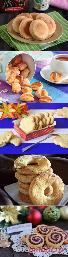 Творожное печенье, 18 рецептов с фото. Как приготовить печенье из творога?