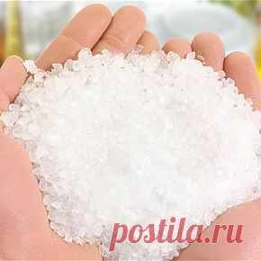 Применение соли для лечения. | Правила здоровья и долголетия