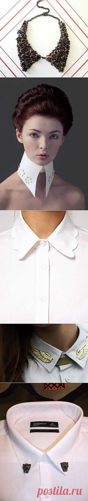 Воротничковое (подборка) / Воротнички / Модный сайт о стильной переделке одежды и интерьера