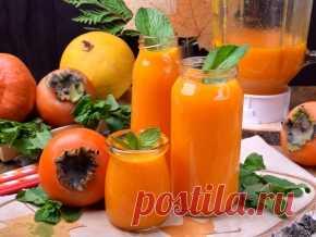 Смузи с хурмой и тыквенным пюре — рецепт с фото пошагово