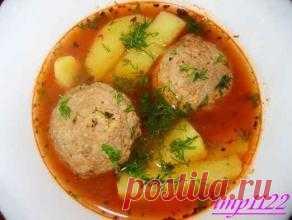 Армянская кухня: суп Кололик