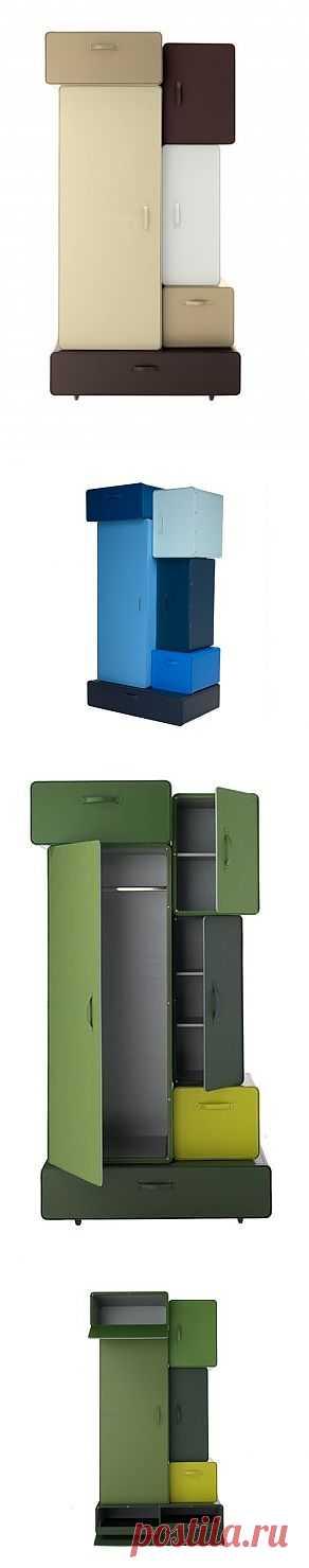 Шкафы из чемоданов / Мебель / Модный сайт о стильной переделке одежды и интерьера