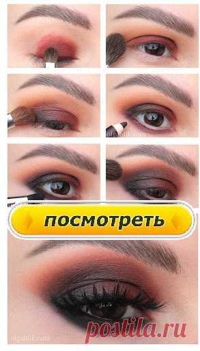 Второй способ, придающий выразительность взгляду-это макияж межресничного пространства.  Грубо говоря, это продолжение макияжа ресниц, только другими продуктами.      Берем подводку или влагостойкий карандаш и прокрашиваем межресничку, приподнимая верхнее веко вверх.