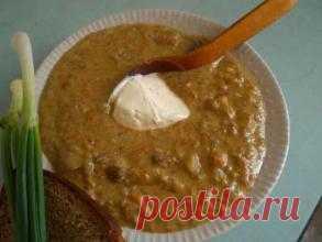 Чешская кухня: Грибной суп