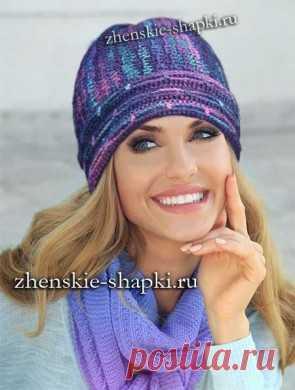 модные вязаные шапки 2017 года вяжем шапки постила