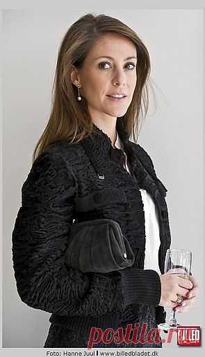 Курточка из каракуля на принцессе Мари Датской / Персоны / Модный сайт о стильной переделке одежды и интерьера