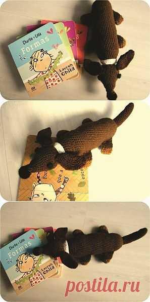 A triste história de um cachorro de crochê » BananaCraft