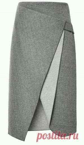 Выкройка очень красивой, элегантной юбки   oblacco