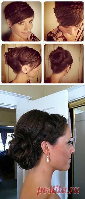 Две красивые прически с косами и наворотами / Прически / Модный сайт о стильной переделке одежды и интерьера
