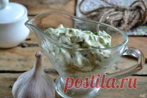 Зеленый чесночный соус - пошаговый рецепт с фото на Повар.ру