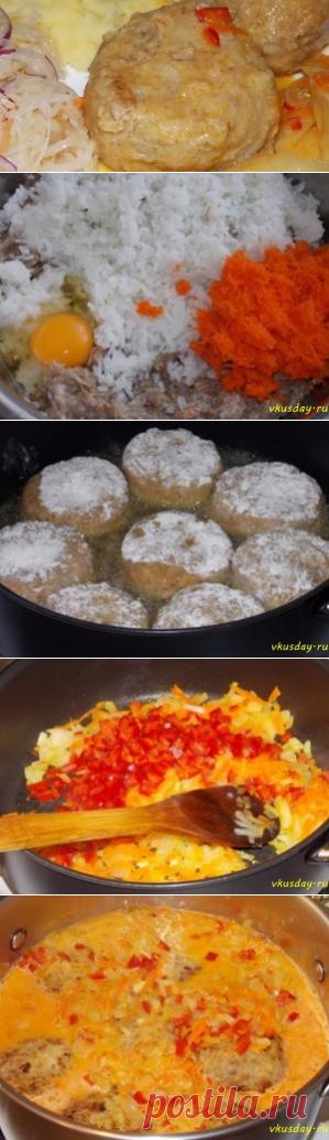 Тефтели в томатном соусе | Вкусный день