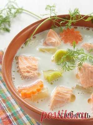 Финский сливочный суп::Хлебсоль, breadsalt.ru