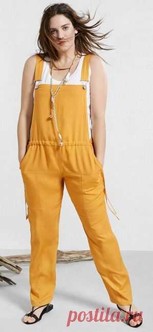 Летние брюки для полных. Модные летние женские брюки, , комбинезоны для полных - фото