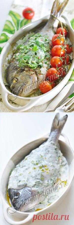Рыба в кокосовом молоке с лаймом и кинзой