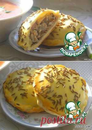 Пирожки к борщу - кулинарный рецепт