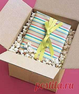 Упаковка посылок / Упаковка подарков / Модный сайт о стильной переделке одежды и интерьера