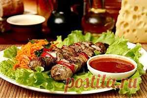 Соус из кизила к шашлыку - Соус, маринад для шашлыка, соус барбекю . 1001 ЕДА вкусные рецепты с фото!